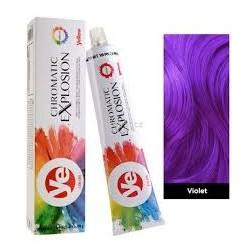 YELLOW přímá barva v krému-violet 100 ml