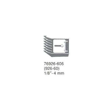 Nasazovací hřeben 4,0 mm universální nástavec