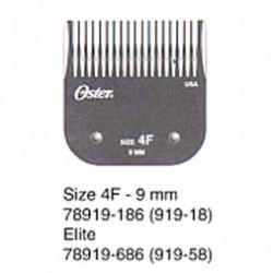 919-58 Výměnný nůž OSTER 9,5 mm velikost 4F