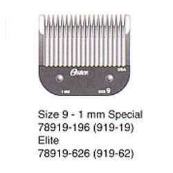 919-62 Výměnný nůž OSTER 1,2mm velikost 9 speciál