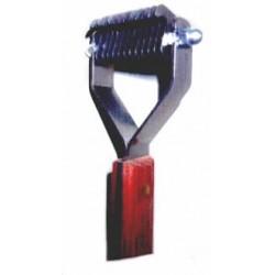 Prořezávací a trimovací hrablo - 10 zubů jemných