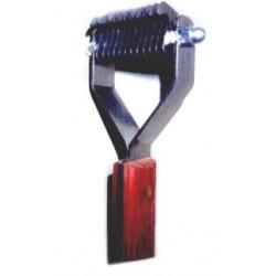 Prořezávací a trimovací hrablo - 12 zubů jemných