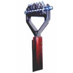 Prořezávací a trimovací hrablo - 6 zubů hrubých