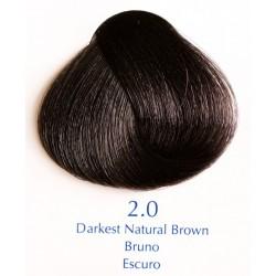 Přírodní barva nejtmavší hnědá 100 ml - 2.0