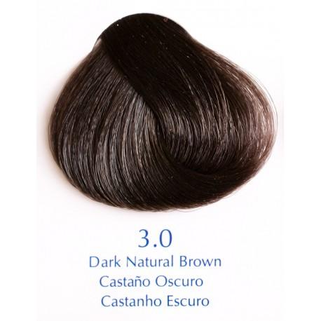 Přírodní barva tmavohnědá 100 ml - 3.0