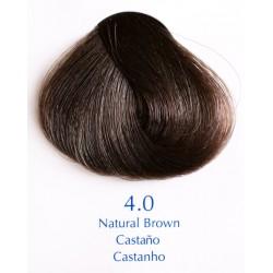 Přírodní barva hnědá 100 ml - 4.0