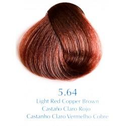 Červený odstín světle červeně měděně hnědá 100 ml - 5.64