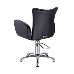 LILAC - luxusní křeslo v černé barvě