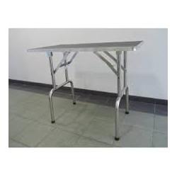 Stůl skládací na stříhání psů 110x60x60